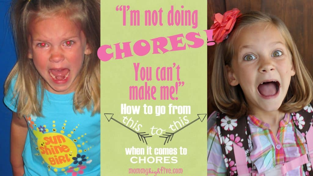 Chore Charts for Moms