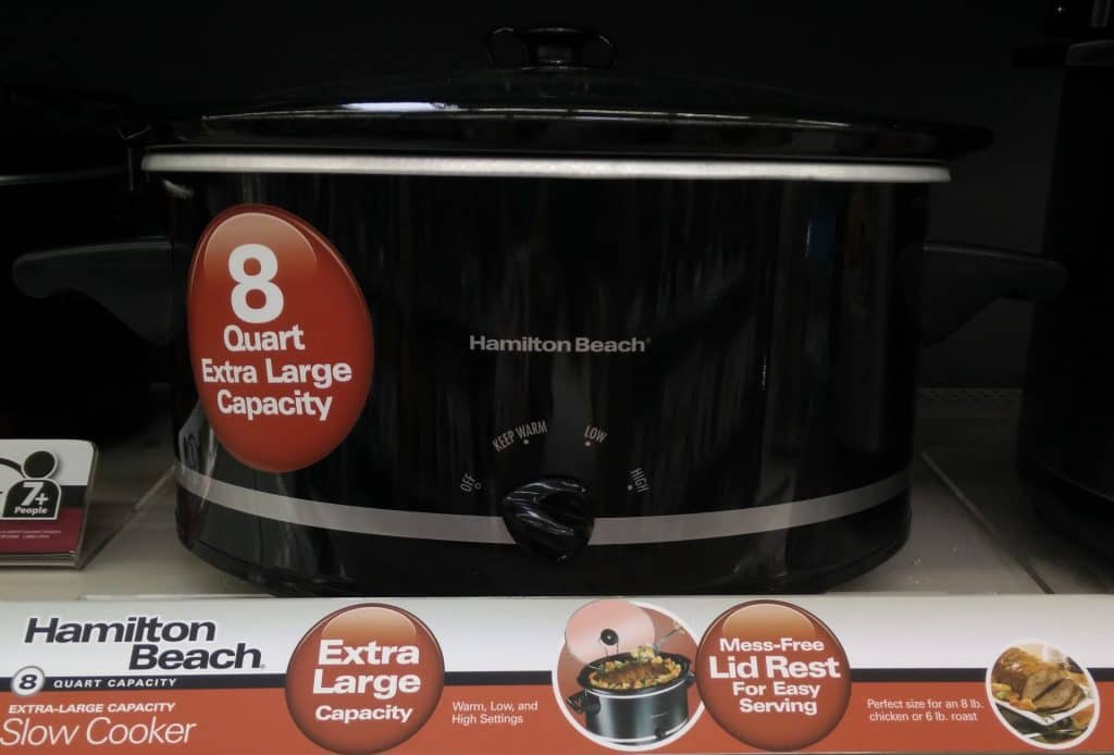 Hamilton Beach 8 Quart Slow Cooker