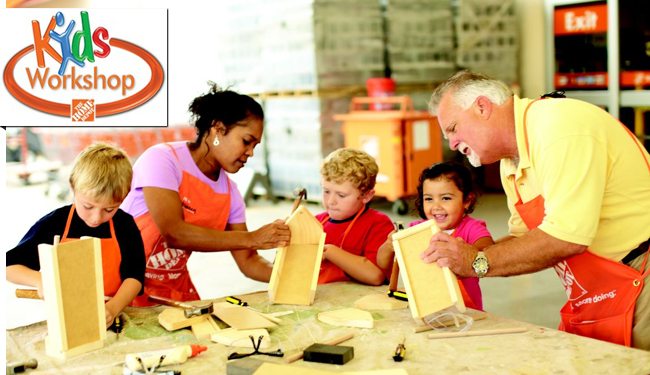 Home Depot Kids Worksh op