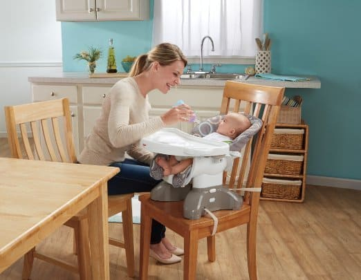 fisherprice space saver high chair - Space Saving High Chair