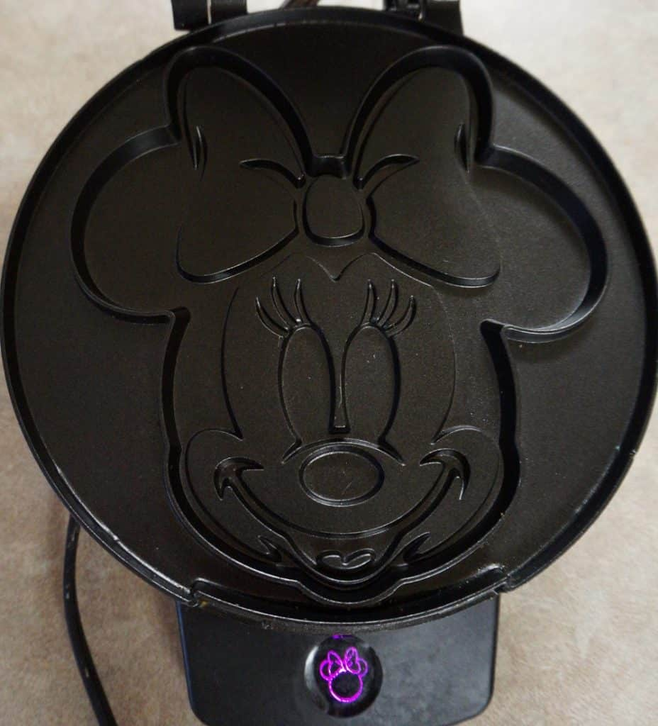 Minnie Mouse Waffle Maker Iron