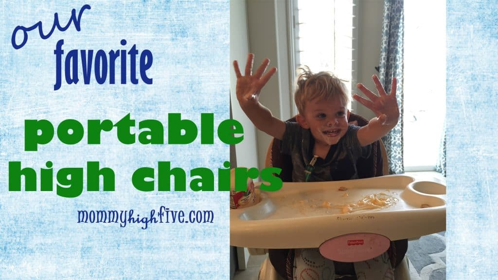 5 Good Portable High Chair Booster Seats