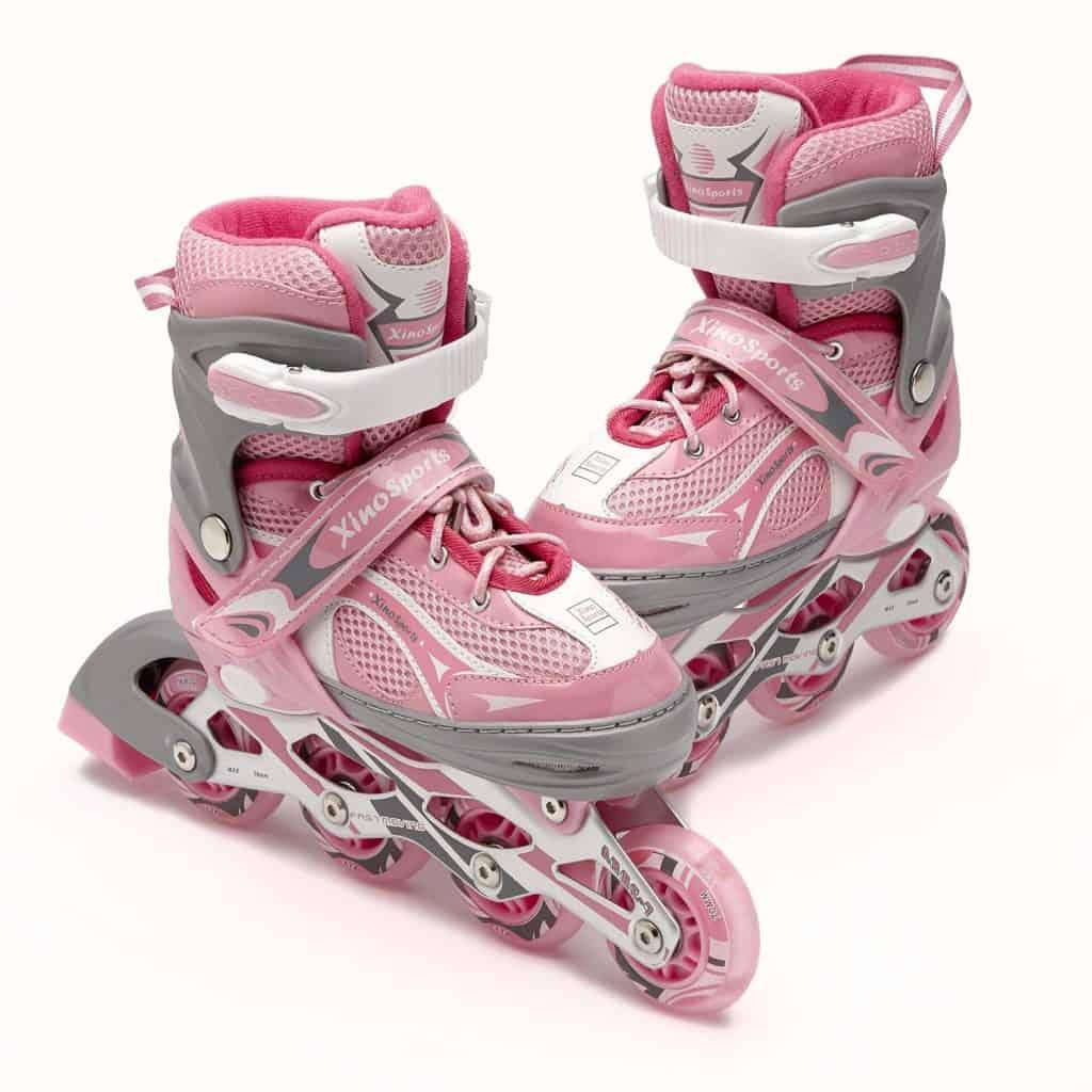 Xinosports Adjustable Insline Girls Skates