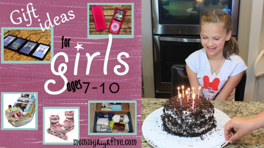 5 Best Christmas Gift Ideas for Girls Ages Seven to Ten 2017