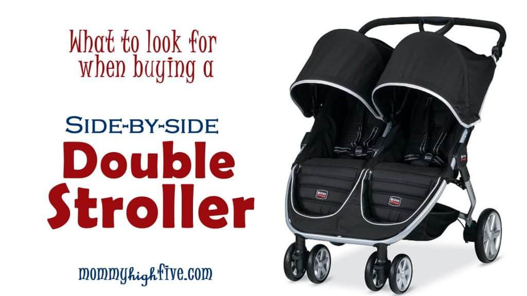 double stroller copy