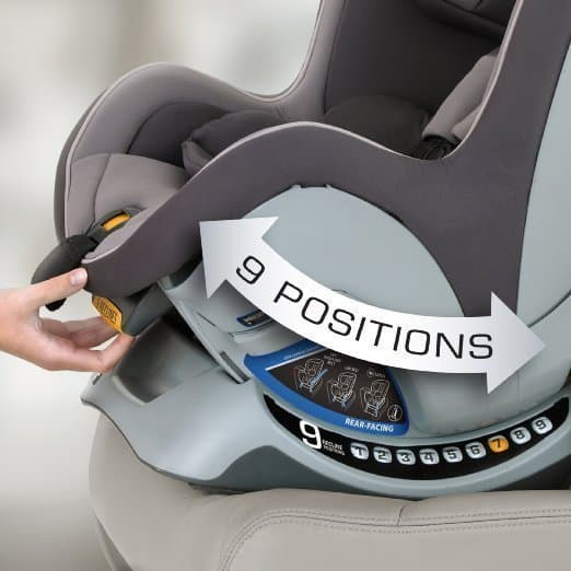 9 Position Convertible Car Seat
