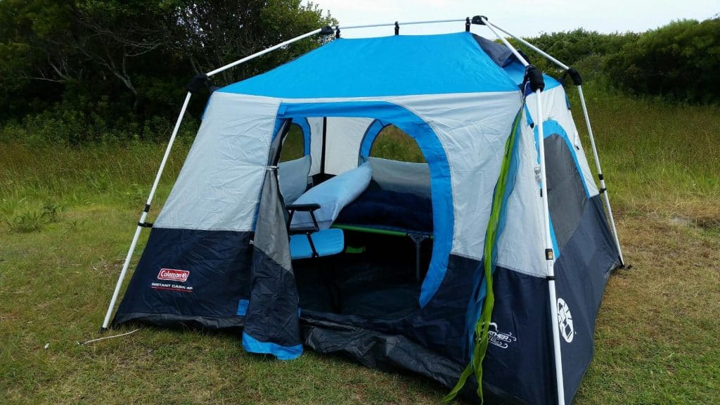 Coleman Instant Tent & The Best Budget Camp Gear for Summer and Winter Camping With Kids 2017