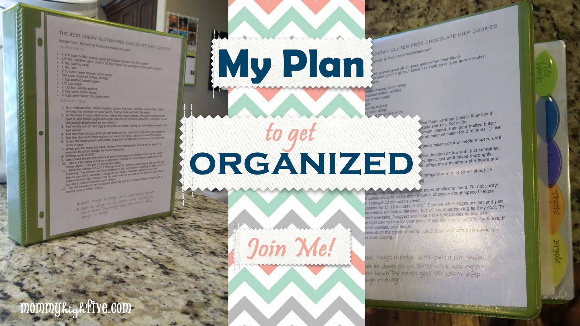 My Gluten-Free Plan to Get Organized