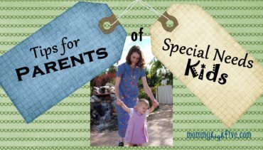 Tips for Parents of Special Needs Kids