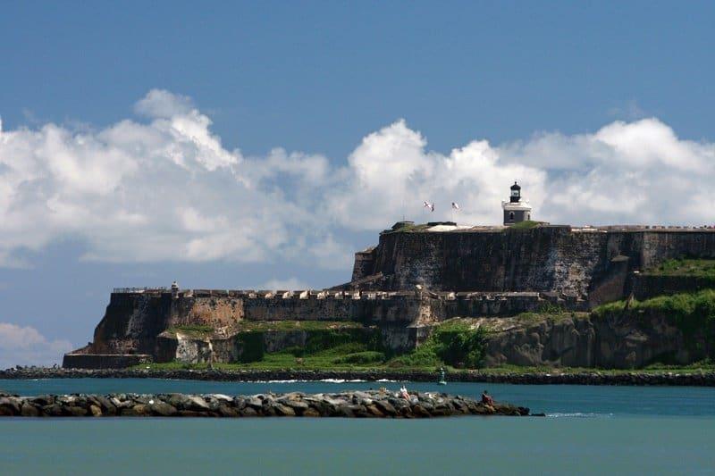 Castle San Felipe Morro Puerto Rico