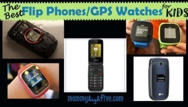 Best Flip Phones and GPS Watches for Kids 2017