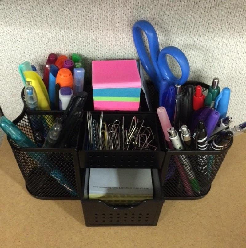 Desktop Organizer Back to School