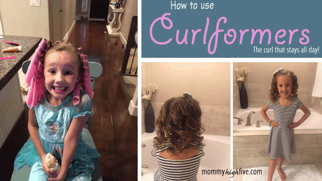 How to Use Curlformers Picture Tutorial