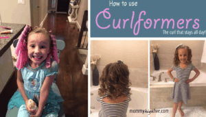 How to Curl Hair with Curlformers – Picture Tutorial