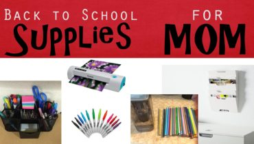 5 Good Back to School Supplies for Mom