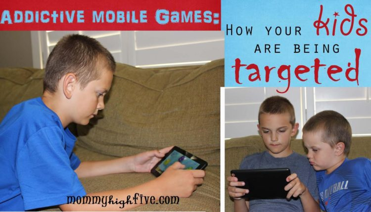 Addictive Mobile Games and Kids