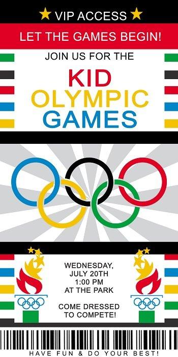 Small Olympic Invite