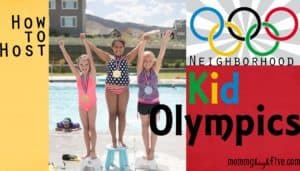 How to Host a Neighborhood Kid Olympics