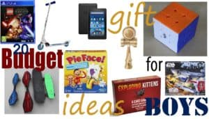20 Budget Christmas Gift Ideas For Boys From $10 to Under $25 2017