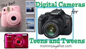 5 Good Budget Digital Cameras for Teens and Tweens 2017