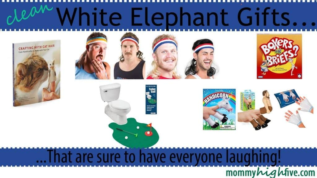 White Elephant Gift Party Guide for Christmas 2017