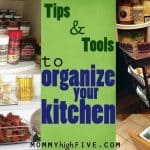 10 Great Tools for Organizing Your Kitchen on a Budget
