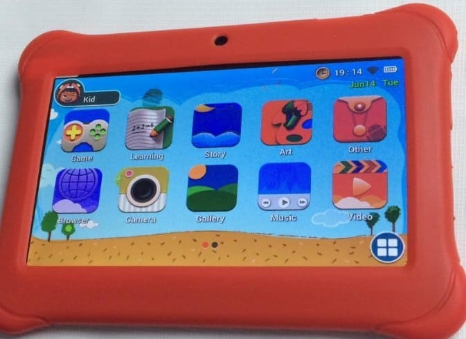 Alldaymall 7 inch Kid's Android Tablet