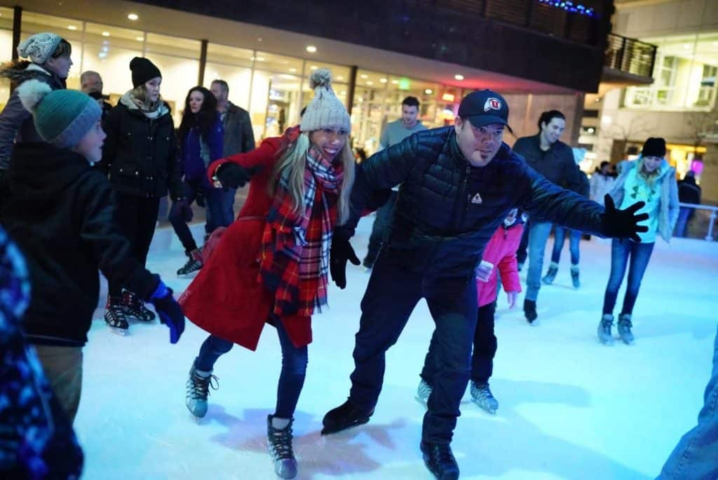 Gallivan Center Ice Rink – Salt Lake City