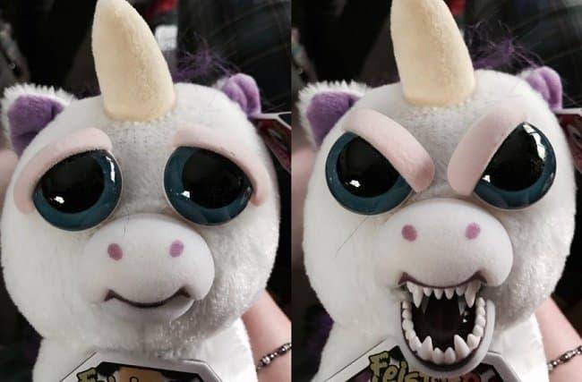 Glenda Angry Unicorn White Elephant Gift