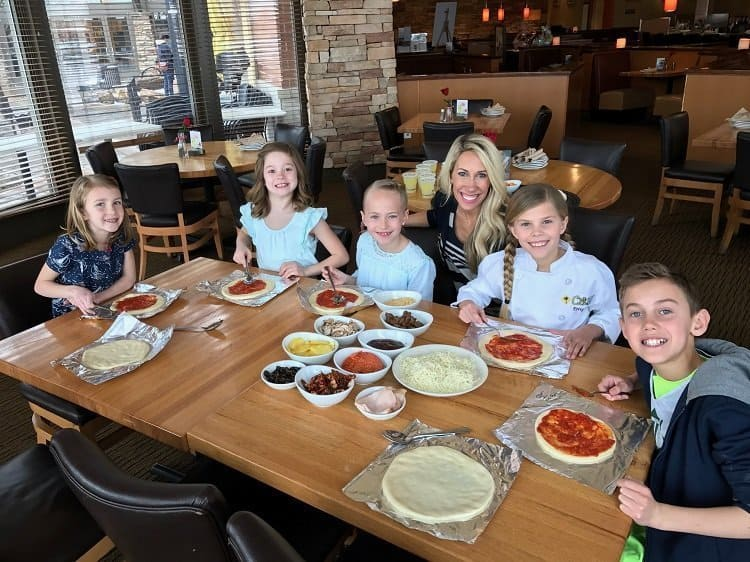 California Pizza Kitchen Pizza and Tour Party