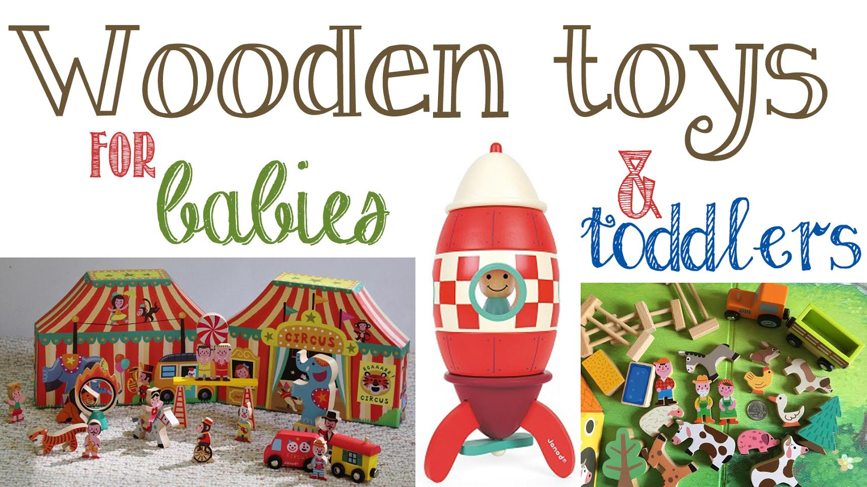 Wooden Toys For 1 Year Olds : Best wooden toys gift ideas for toddlers babies and