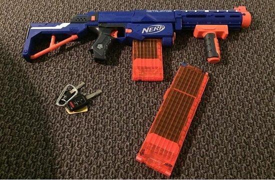 Nerf Gun for Age 7
