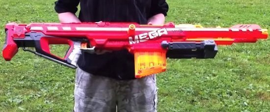 Long Distance Nerf Rifle Mega Centurion