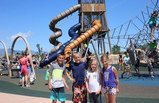 Wardle Fields Splash Pad and Playground- Bluffdale