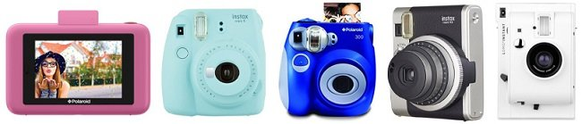 5 Fun Instant Polaroid Cameras for Kids 2018