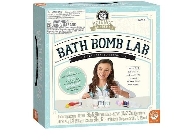Bath Bomb Lab Science Kit for Girls